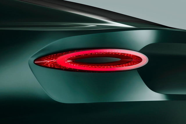 bentley exp 10 speed 6 concept official specs and pictures tail light press image