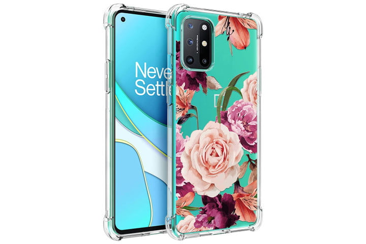 best oneplus 8t cases osophter floral clear case