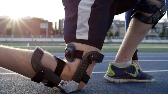 world first bionic knee brace levitation