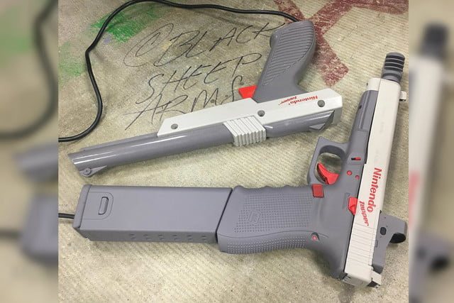 Nintendo, guns, zapper