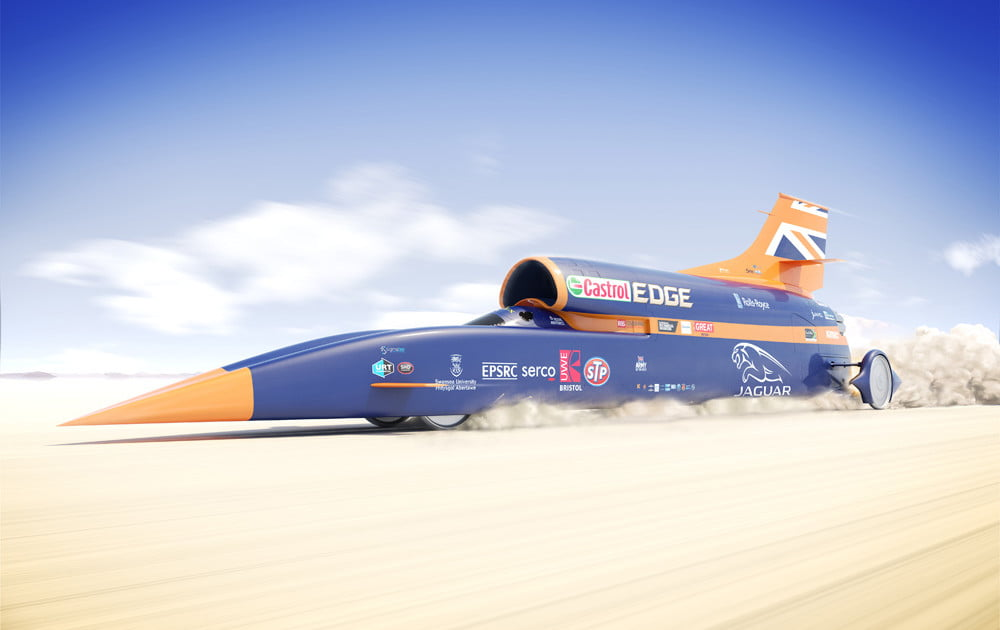 Bloodhound supersonic car can be yours for just $11 million