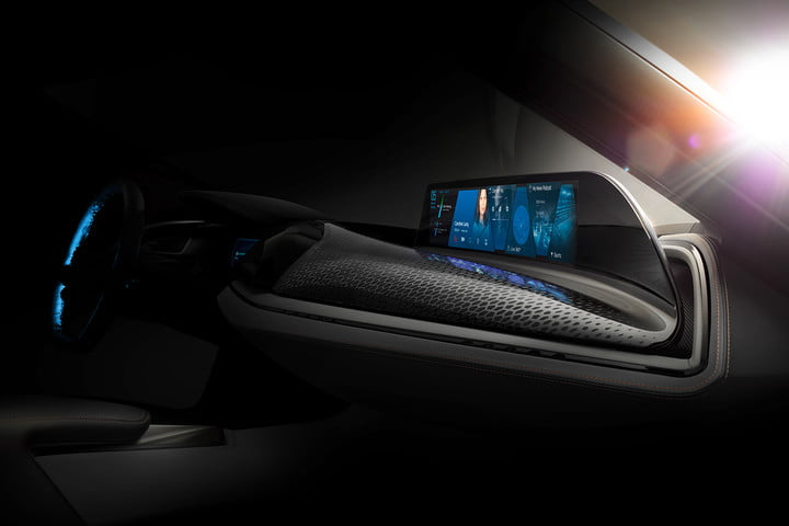 bmw ces vision car news teasers tech specs airtouch