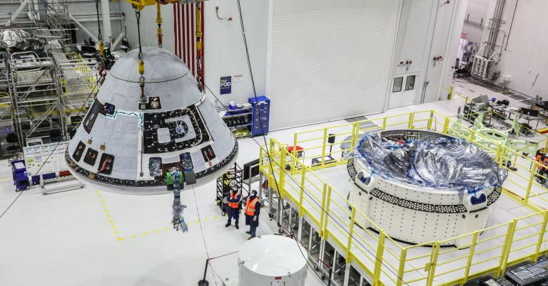 Flight test for troubled Starliner capsule pushed back to April