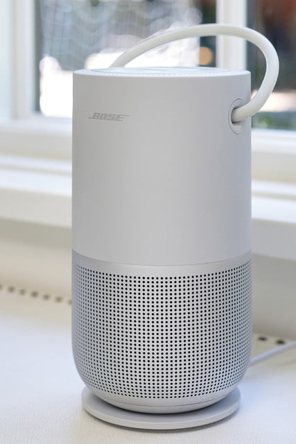 bose bluetooth portable smart speaker home silver  4