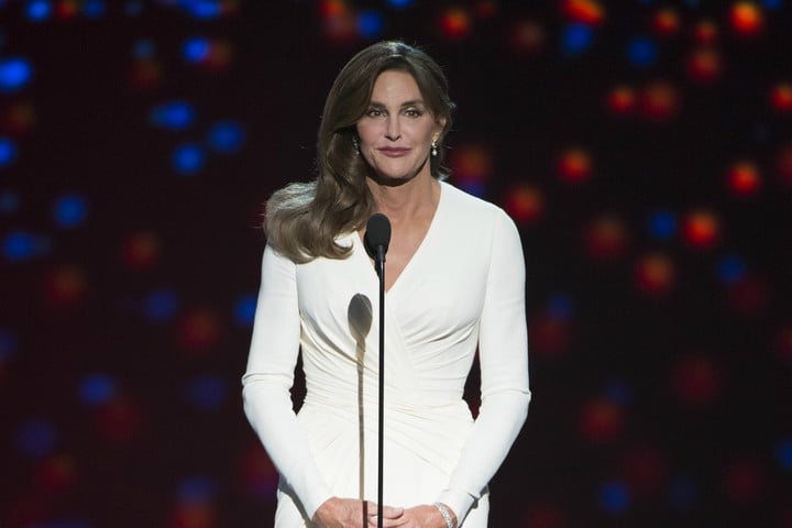 caitlyn jenner amazon transparent award show
