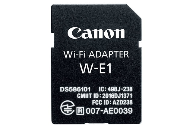 canon 7d mark ii new kits w e1 wifi adapter for