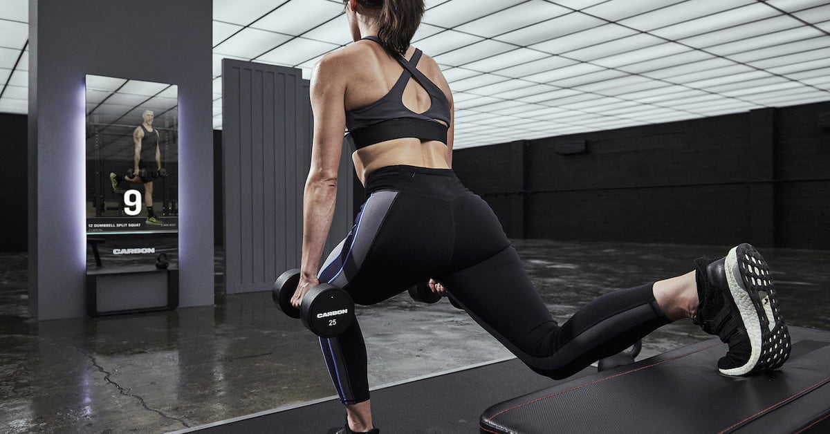 Carbon Trainer fitness mirror whips you into shape using 3D cameras and sensors