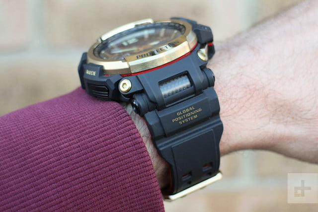 Casio G Shock GPW-2000 review arm band
