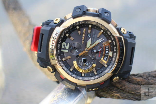 Casio G Shock GPW-2000 review face