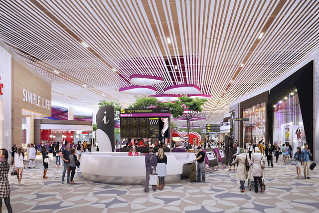 best airports for layovers changi airport retail zone in departure transit lounge  1
