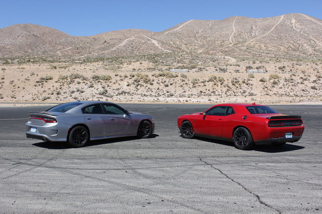 2015 dodge charger challenger srt hellcats track review and hellcat on full