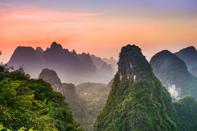 10 famous movie locations you can actually visit china  s guilin mountains