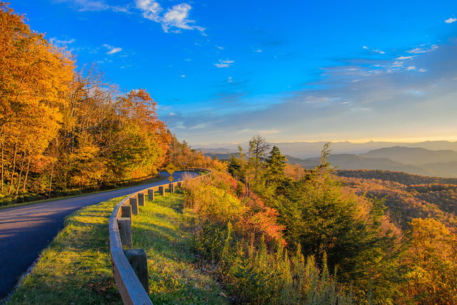 2016 best state for fall photography chuck vickers north carolina