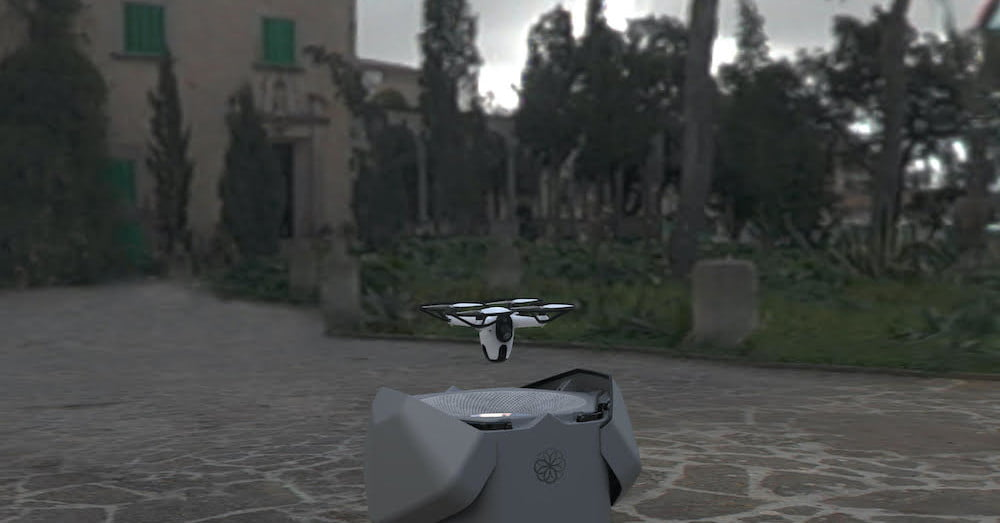 Sunflower Labs' Bee is a fully autonomous home defense and observation drone