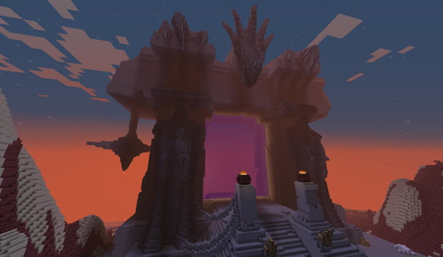 best minecraft creations and maps crafting azeroth 2 the dark portal