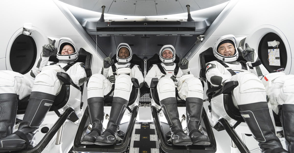 NASA and SpaceX successfully launch first operational Crew Dragon mission