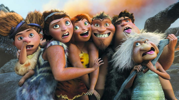 The Croods on Netflix
