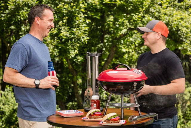 amazon drops prices for cuisinart grills smokers and bbq accessories ccg 190rb portable charcoal grill 3