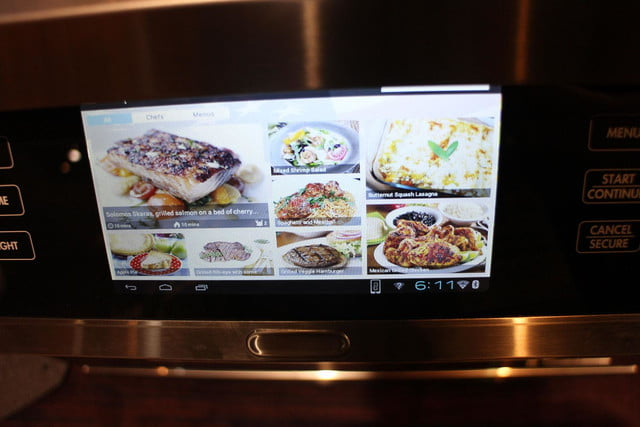 dacors voice activated oven debuts at ces 2015 dacor discovery iq dual fuel range 0253