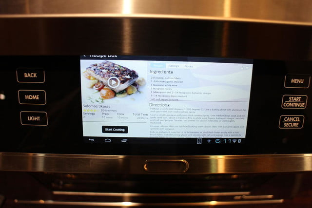 dacors voice activated oven debuts at ces 2015 dacor discovery iq dual fuel range 0254