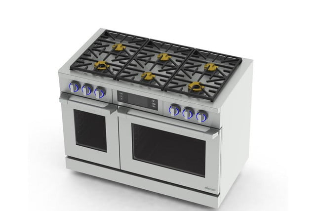 dacors voice activated oven debuts at ces 2015 dacor discovery iq 48 inch dual fuel range