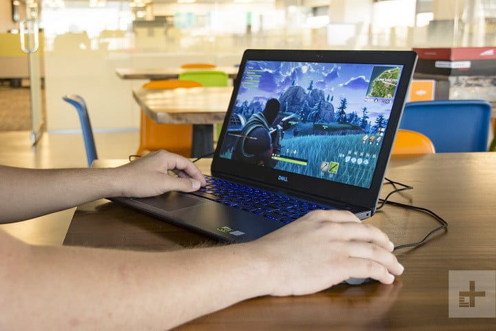 Dell G3 Gaming Laptop Review   Fortnite close up