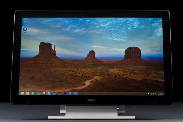 dell p2714t review front screen