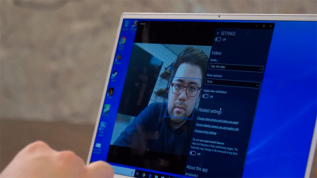 Yes, even a dirt cheap webcam is probably way better than just your laptop