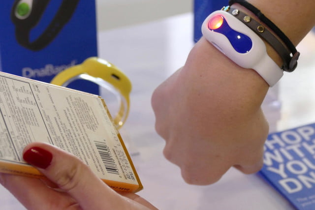 dnanudge dna shopping ces2020 barcode scan