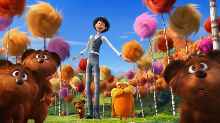 Dr. Seuss' The Lorax on Netflix