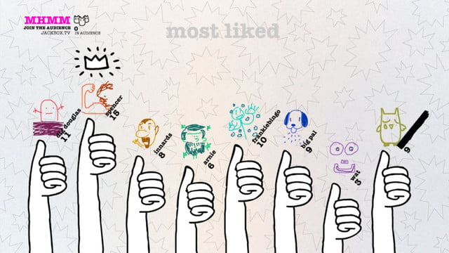 smartphone group games drawful most liked
