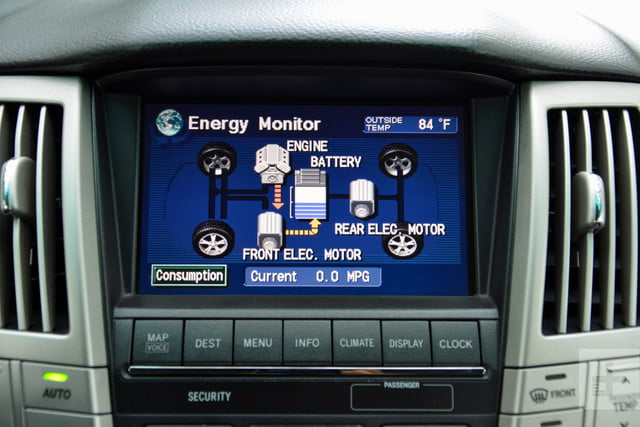 the evolution of car infotainment systems dt first gen lexus rx system 2