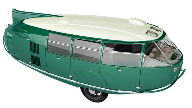 best vaporware cars dymaxion car 4