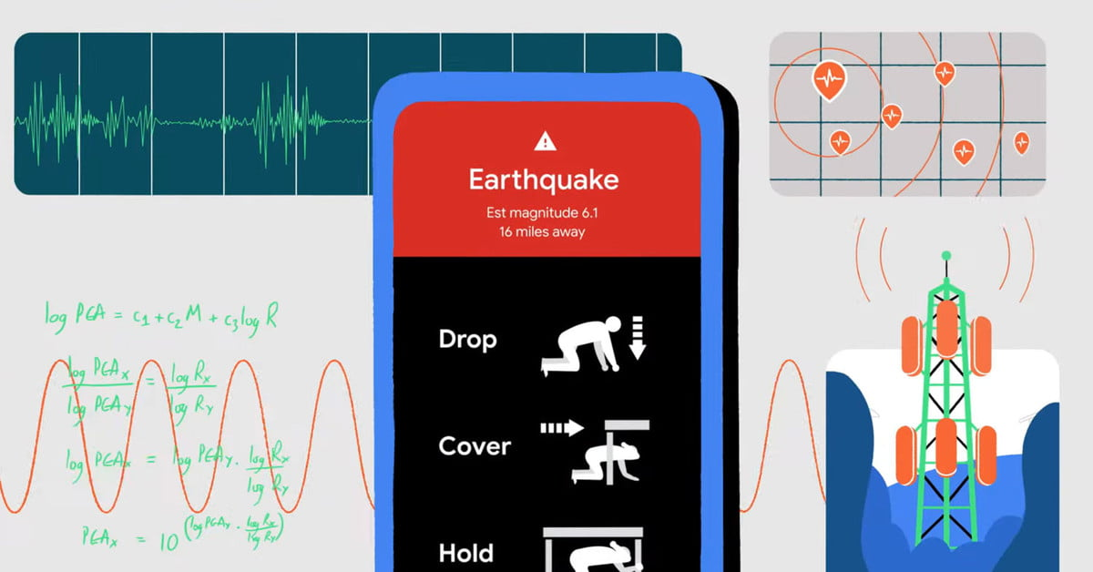 Google is turning Android phones into an earthquake tracking system