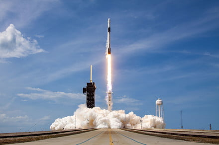 SpaceX uses rocket booster for recording 9th time in Starlink launching thumbnail