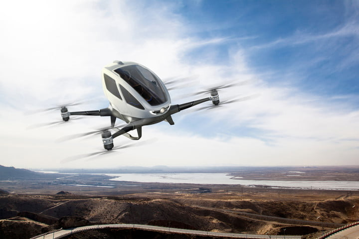 eHang 184, most expensive drones