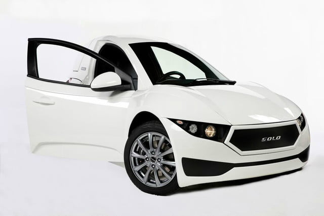 electra meccanica solo unveiled right side door