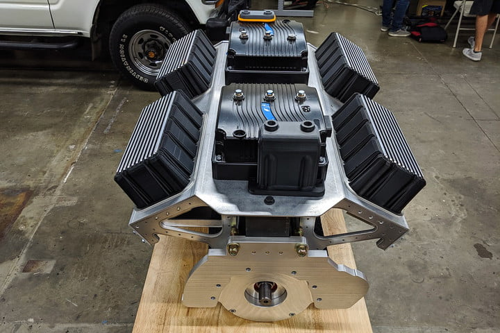 Electric GT e-Crate Motor front