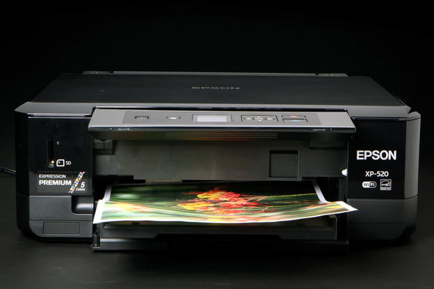 EPSON XP 520 front printing