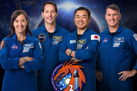 <p>Meet SpaceX's Crew-2 astronauts before they blast off to space thumbnail