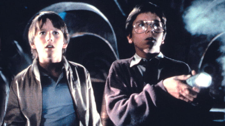 Ethan Hawke and River Phoenix in Explorers