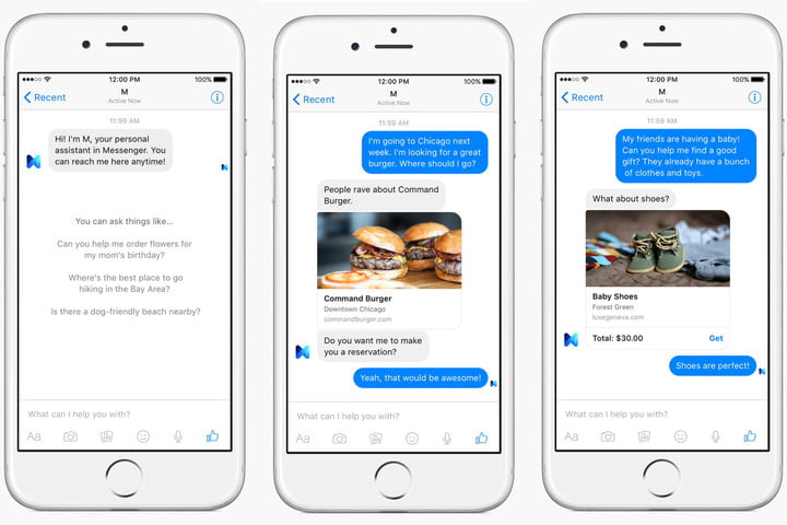 facebook ai common sense m screenshots