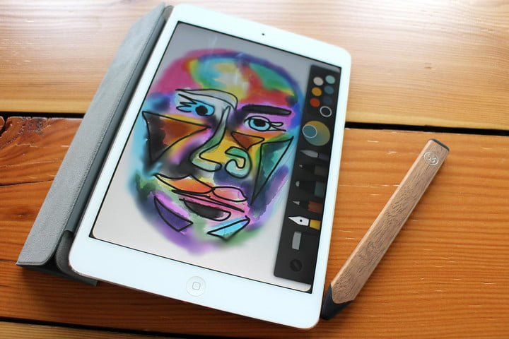 FiftyThree Pencil and Paper face drawing