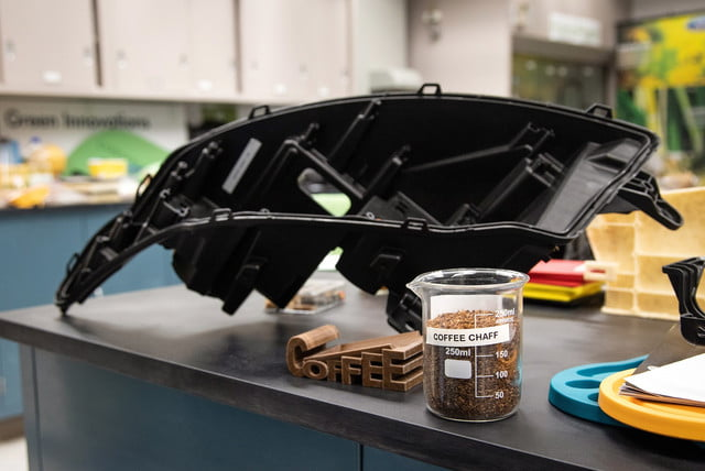 ford sourcing coffee chaff from mcdonalds to make car parts and mcdonald s collaboration