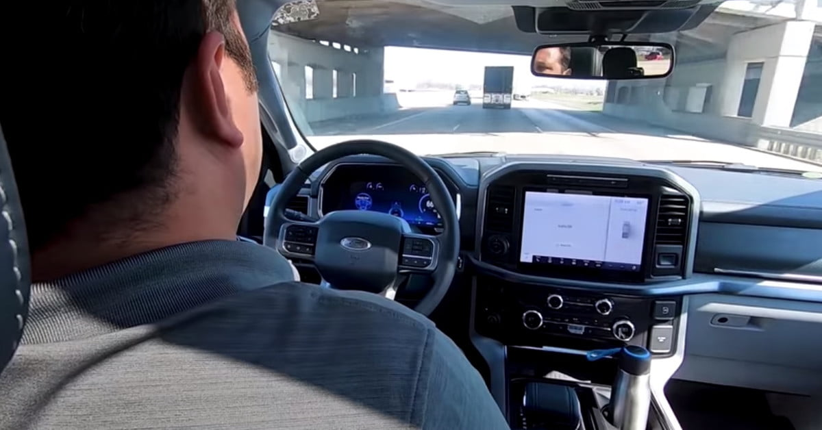 Watch Ford testing its next-gen driver-assist tech on a mega road trip