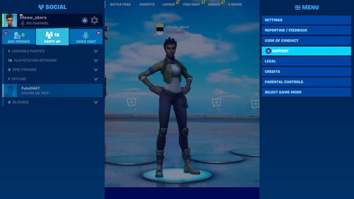 How To Log Out Of A Fortnite Account On Ps4 Digital Trends