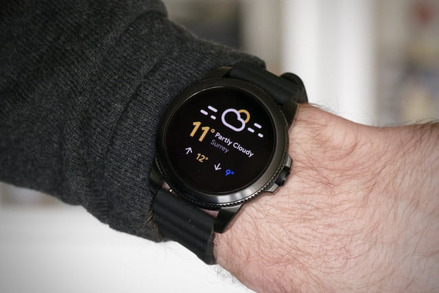 fossil gen 5e review weather