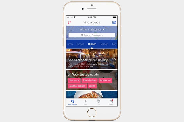 Best Fourth of July Apps - Foursquare