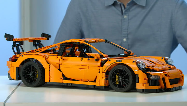 gift guide for car enthusiasts gifts lovers lego porsche 911 gt3 rs