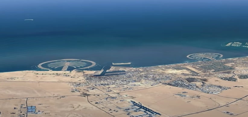 how to view google earths timelapse imagery in 3d earth  dubai